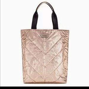 NWT victoria secret rose gold tote bag